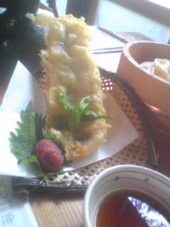 これが鱧の天ぷらです